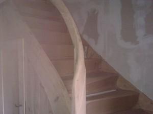 Das Holz wurde behandelt.